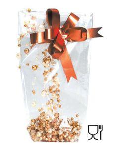 Cellofanposer KLAR. 14 x 30 cm.