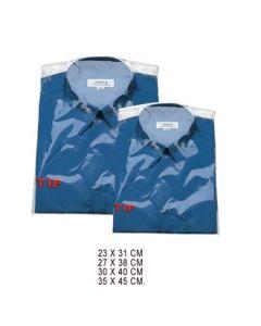 Plastposer t/ skjorter - 250 stk.