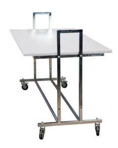 Gadebord - L10 - hvit bordplade