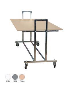 Gadebord - L10 - lønn bordplade