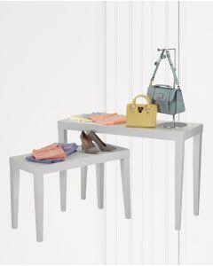 Opleggsborde - Mat hvite
