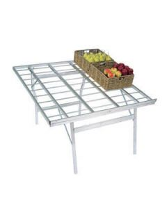 Fremvisningsbord aluminium