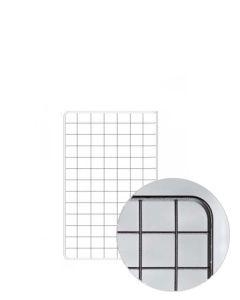 Gitter (80 x 100 cm.) - Sort