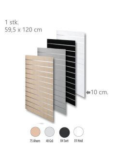 Rillepanel - Standard (59,5 x 120 cm)