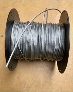 Wire, med plast, Ø3 mm, pr. LBM