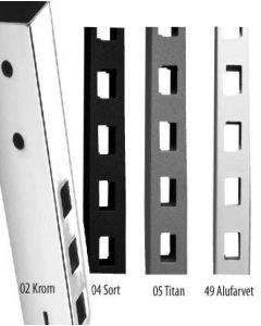 Framework firkantskinne m/1 hullrekke L 210 cm.