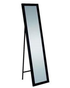 Gulvspeil - Sort høyglans