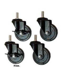 Hjulsett - Iron Pipe
