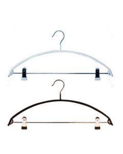 Buet skliksikker strikkhenger m/ klype  46 cm.