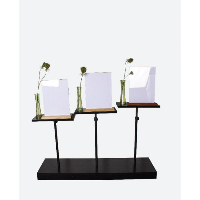 Podie - 3-trins display