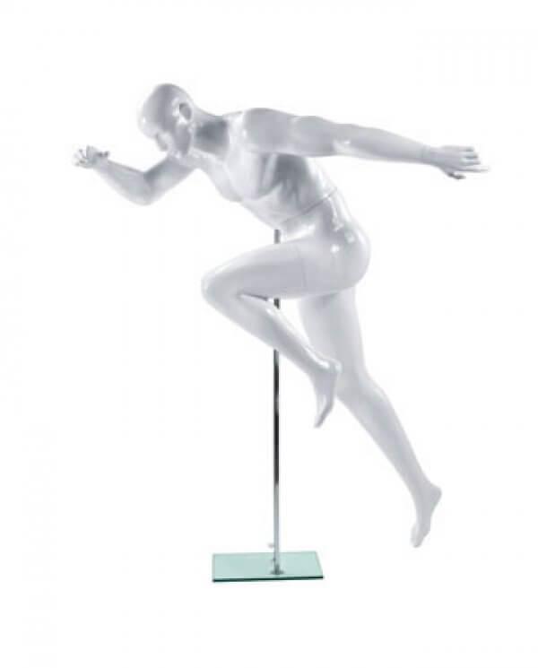 Sports mannequin, herre, sprint
