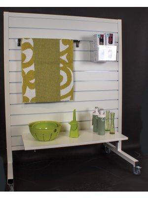 Gondol m/ rillepanel - Standard panel og hvide alulister