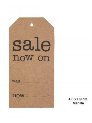 Manillamærker - Sale now on - H 9,6 cm.