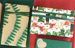 Traditionelt julepapir